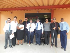 SAAVI Staff and Students dressed for success before a local job fair