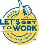 Lets get to work logo